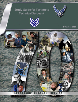 Cover of Air Force Study Guide for Testing to Tech Sergeant